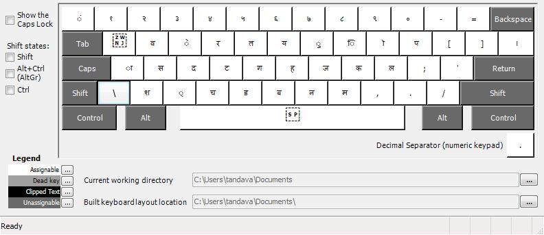 a bolnagri keyboard layout for windows