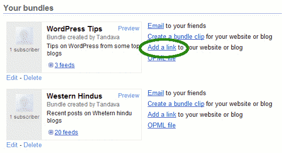 how to add a website link to sahara